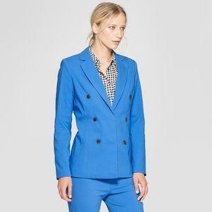 Who What Wear Classic Blue Blazer Medium